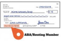 Account Number And Routing Number On Checks