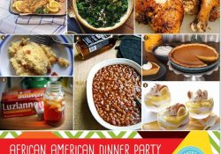 African American Heritage Dinner Party: Decor And Menu Ideas | Grown pertaining to American Dinner Ideas