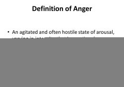 All Fired Up Anger Is The Second Emotion. Agenda Case Scenario intended for Definition Of Anger