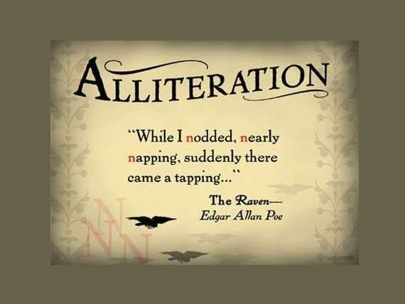 Alliteration Poems within Examples Of Alliteration In Poetry 57468