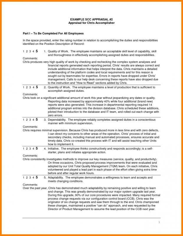 Annual Performance Review Employee Self Evaluation Examples throughout Annual Performance Review Employee Self Evaluation Examples 59235