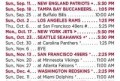 Arizona Cardinals Preseason Schedule