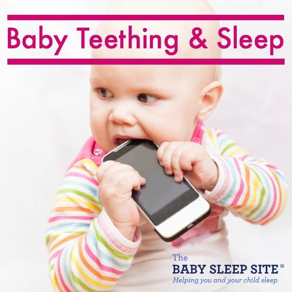 Baby Teething And Sleep: 3 Proven Tips | The Baby Sleep Site - Baby pertaining to How To Help Teething Baby 48277