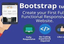 Bootstrap 3 Tutorial -Create Your First One-Page Responsive Website throughout Bootstrap Tutorial Pdf