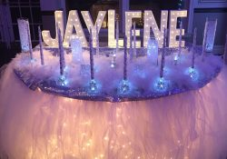 Candle Ceremony Set-Up - Winter Wonderland Sweet 16 | Winter regarding Sweet 16 Party Ideas For Winter