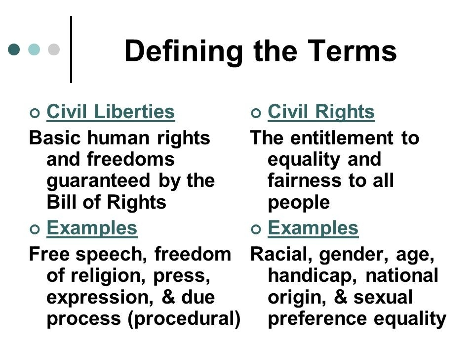 Civil Liberties Examples Choice Image - Resume Cover Letter Examples pertaining to Examples Of Civil Rights 59550