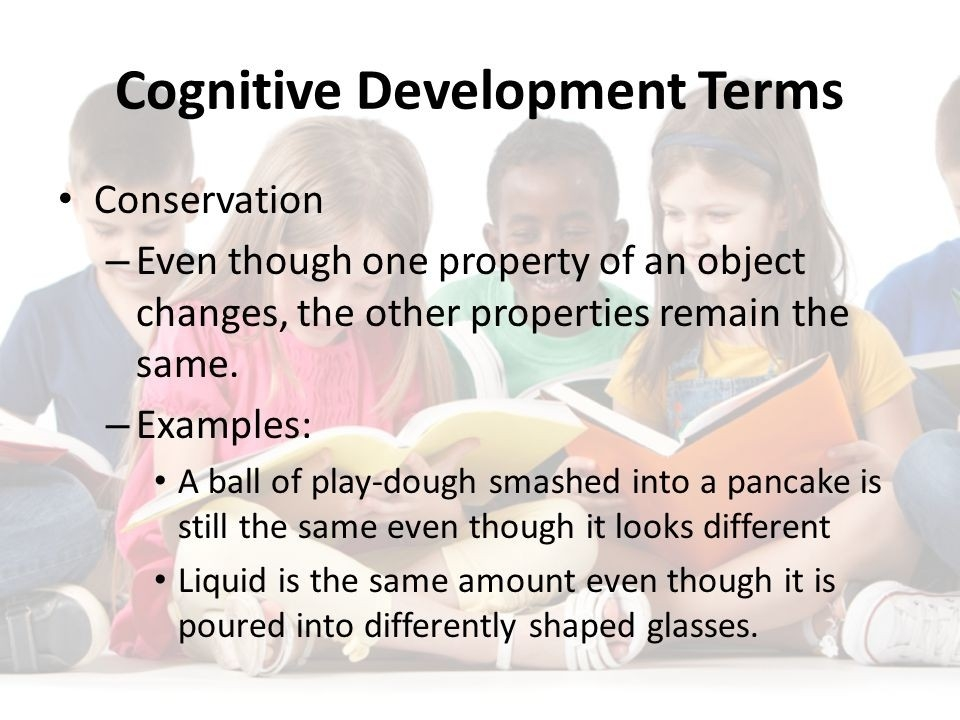 Cognitive Development Of A Preschooler. Piaget's Preoperational with regard to Examples Of Cognitive Development 59460
