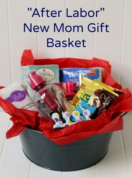 Create A Diy New Mom Gift Basket For After Labor | Diy | Pinterest intended for Gift Ideas For New Moms & Create A Diy New Mom Gift Basket For After Labor | Diy | Pinterest ...