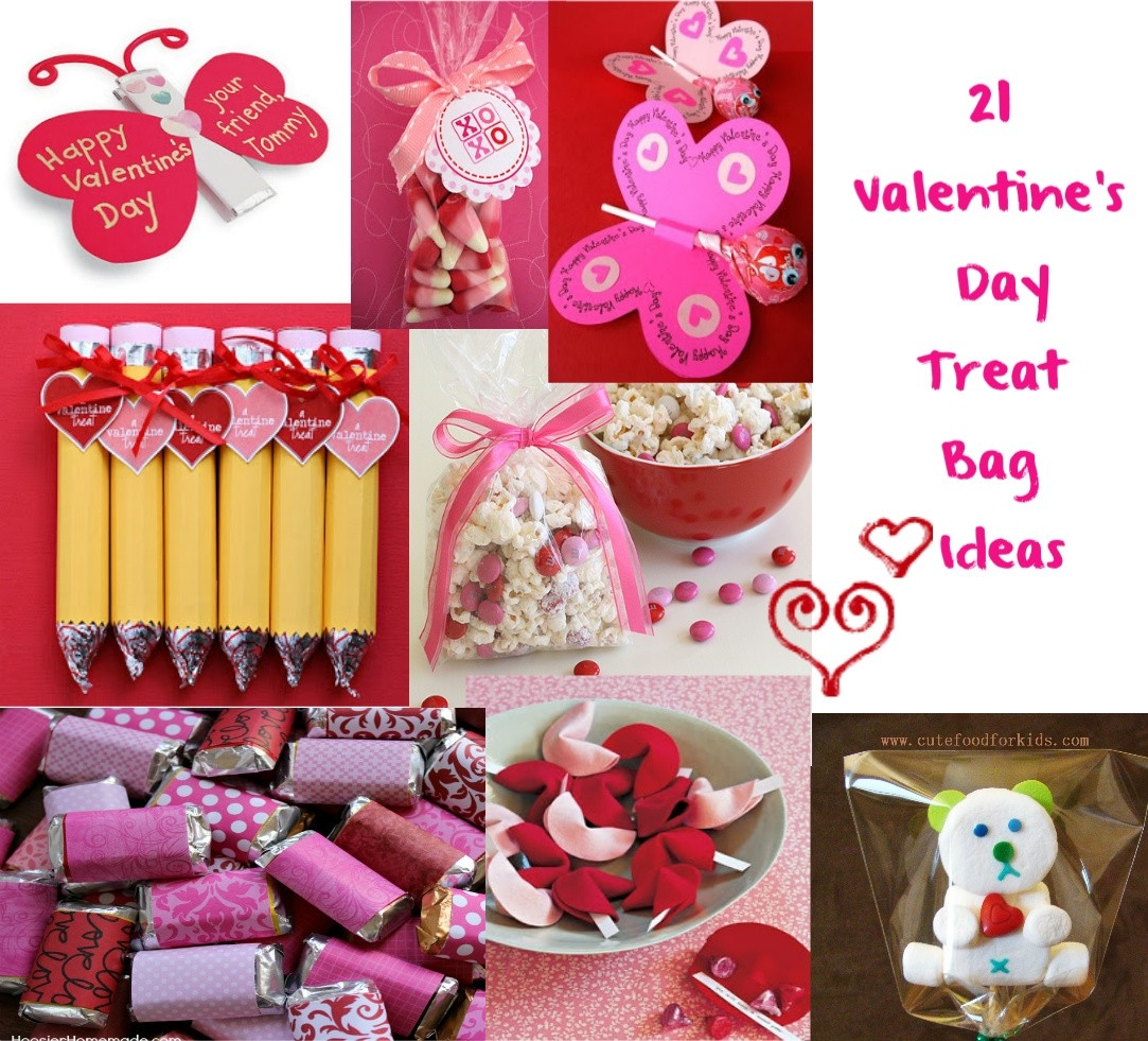 Cute Food For Kids?: Valentine's Day Treat Bag Ideas for Valentine Goodie Bag Ideas 36737