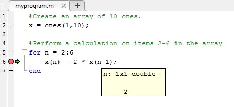 Matlab For Loop Example | Examples and Forms