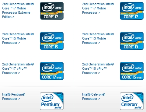 Decoding Intel's Laptop Processor List [Technology Explained] intended for List Of Intel Processors 36085