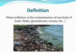 Definition Water Pollution Is The Contamination Of Any Body Of Water with regard to Water Pollution Definition