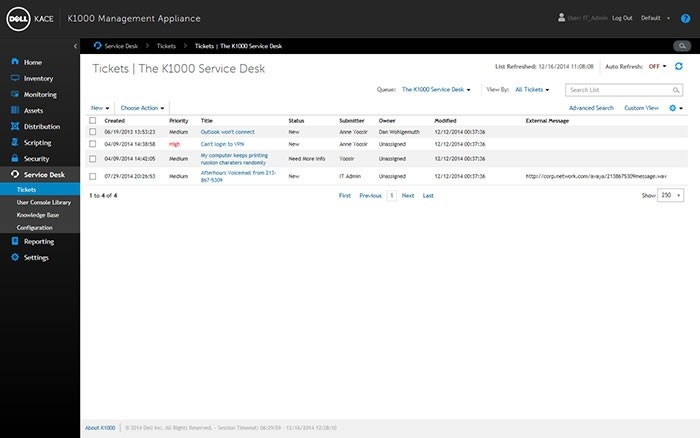 Dell Service Desk Management | Deployandmanage with Dell Help Desk 46044