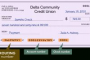Routing Number For Delta Community Credit Union