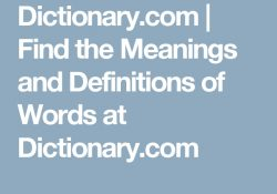 Dictionary | Find The Meanings And Definitions Of Words At within Dictionary Com Find The Meanings And Definitions Of