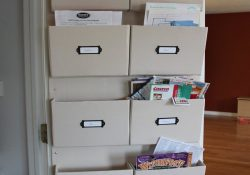 """Diy Kinda Girl: """"it's Amazing What You Can Make From Cardboard And with regard to Mail Storage Ideas"""