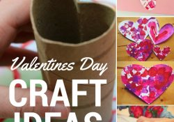 Easy Valentines Day Craft Ideas For Toddlers - Roseyhome intended for Valentine Ideas For Toddlers