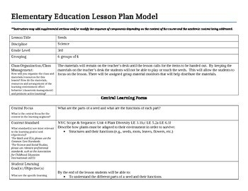 Edtpa Lesson Plans Teaching Resources | Teachers Pay Teachers with Edtpa Sample Lesson Plans 56659