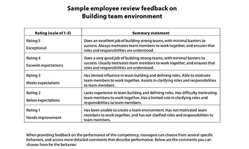 Employee Reviews Samples - Muco.tadkanews.co pertaining to Sample Performance Review Comments 57104