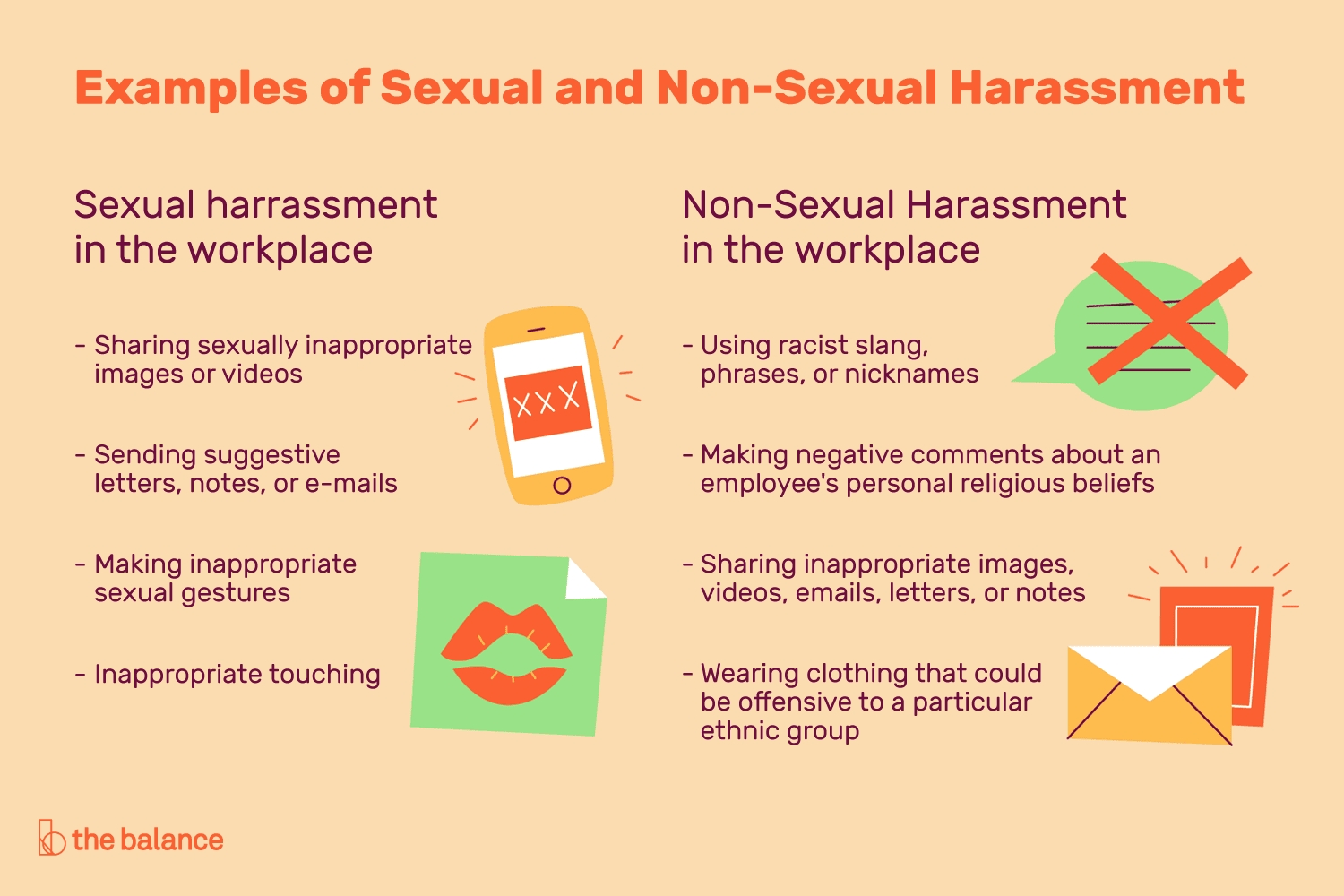 Examples Of Sexual And Non-Sexual Harassment At Work intended for Examples Of Harassment 58599