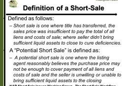 Financially Troubled Property What Sellers Need To Know When Your pertaining to Definition Of A Short Sale
