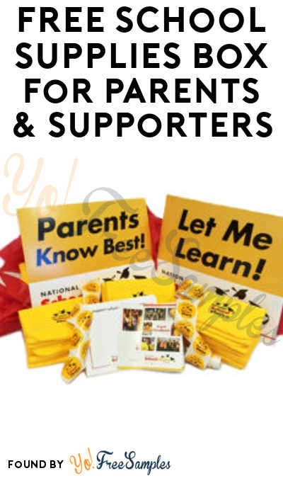 Free School Supplies Samples By Mail | Examples and Forms
