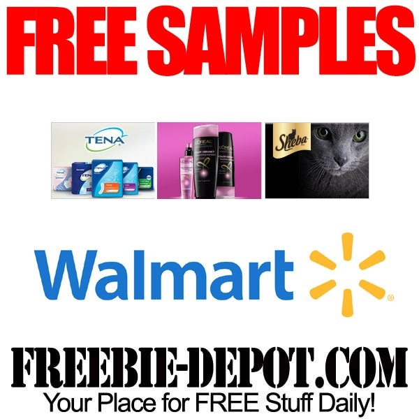 Free Walmart Sample Page | Freebie Depot intended for Free Samples From Walmart 57453