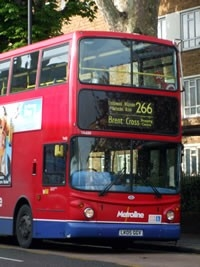 Hammersmith's Local Community Web Site intended for 266 Bus Schedule