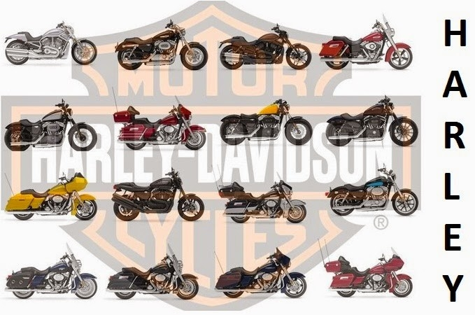 Harley Davidson List Of Models | Motorcycle Specification for Harley Davidson Models List 36306