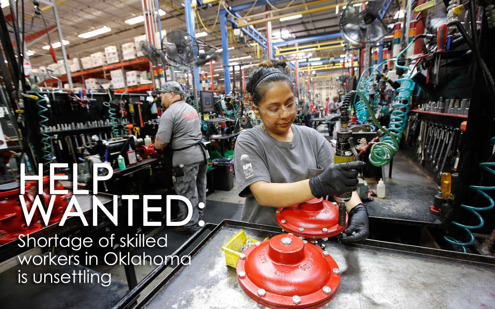 Help Wanted: Shortage Of Skilled Workers In Oklahoma Is Unsettling regarding Oklahoma City Help Wanted 46336
