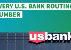 Here's Your U.s. Bank Routing Number | Gobankingrates in Us Bank Routing Number Missouri