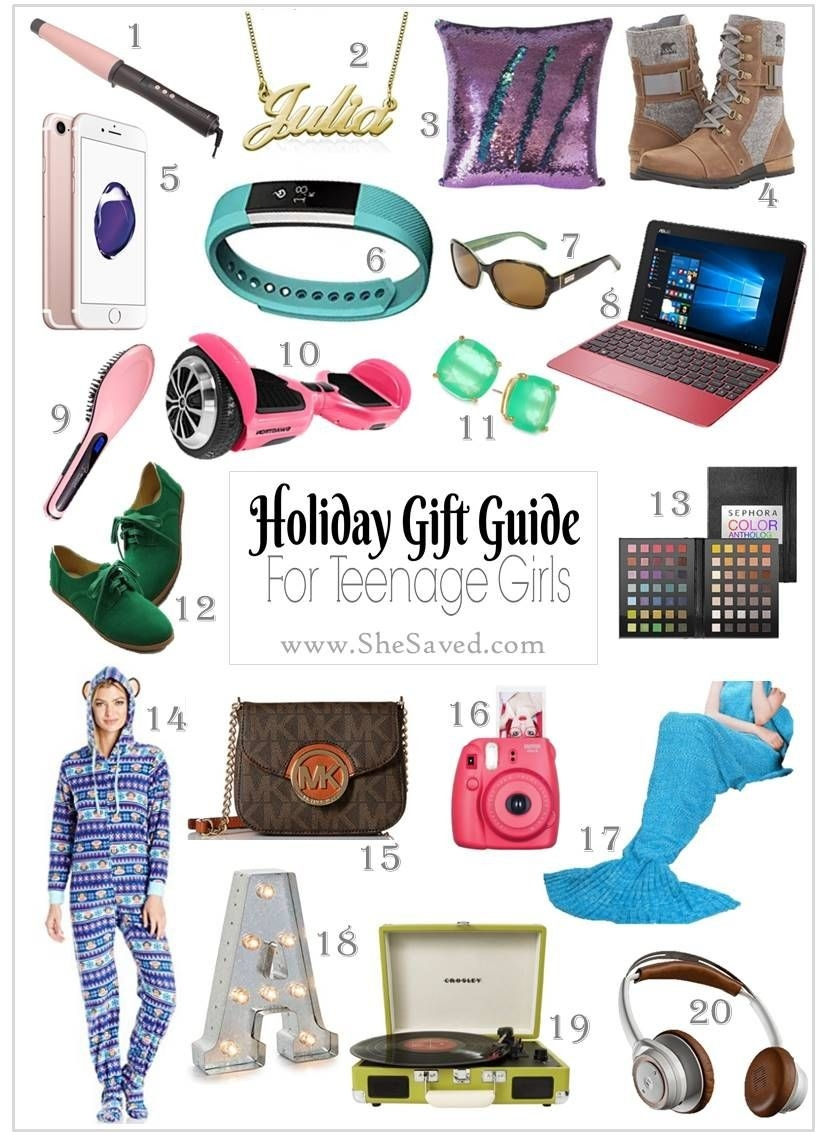 Holiday Gift Guide: Gifts For Teen Girls | Birthday Ideas | Gifts throughout Teenage Girl Gift Ideas 36960