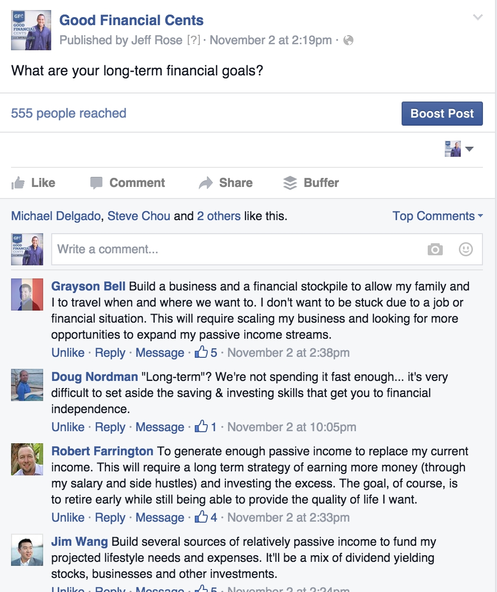 How To Achieve Important Long-Term Financial Goals - Good Financial throughout Long Term Goal Examples 56566