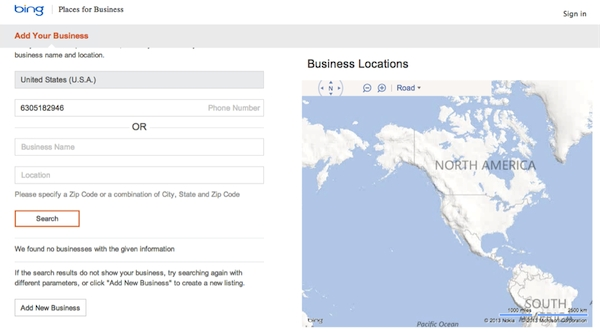 How To List Your Small Business On Bing Places For Business - Small for Bing Business Listing 36833