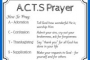 Acts Prayer Example