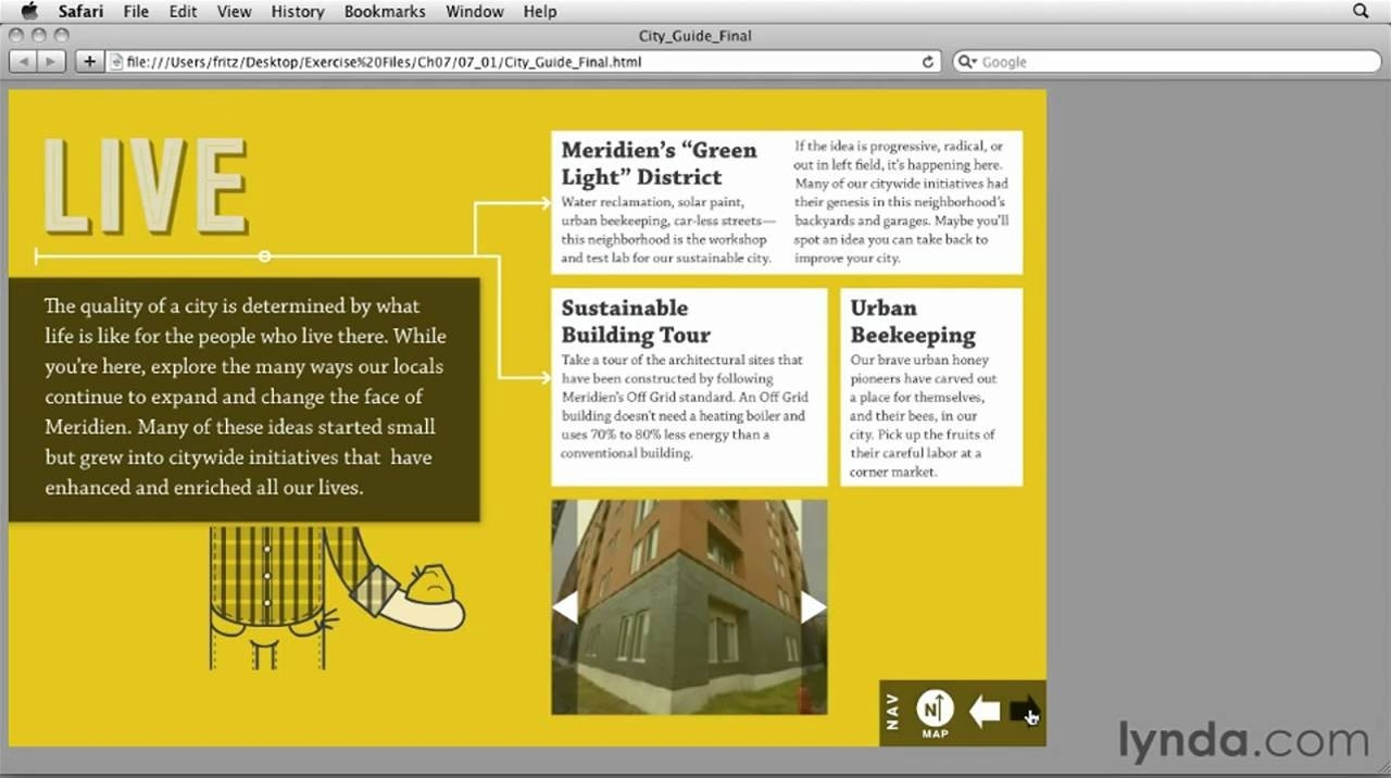 Indesign Project Example | Lynda Indesign Cs5: Interactive intended for Interactive Pdf Example 58632
