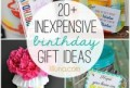 Small Birthday Gift Ideas