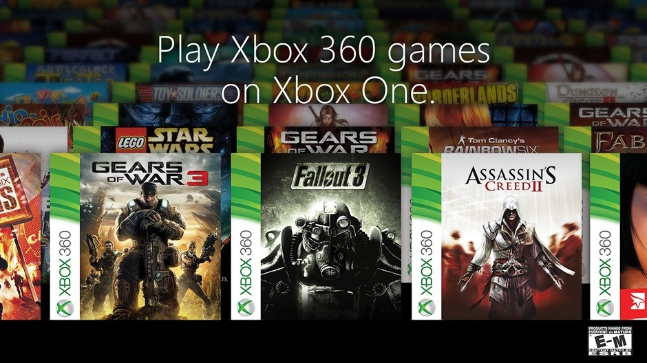 Introducing Your First 104 Xbox One Backward Compatible Games - Xbox throughout List Of Backwards Compatible Xbox 360 Games 38126