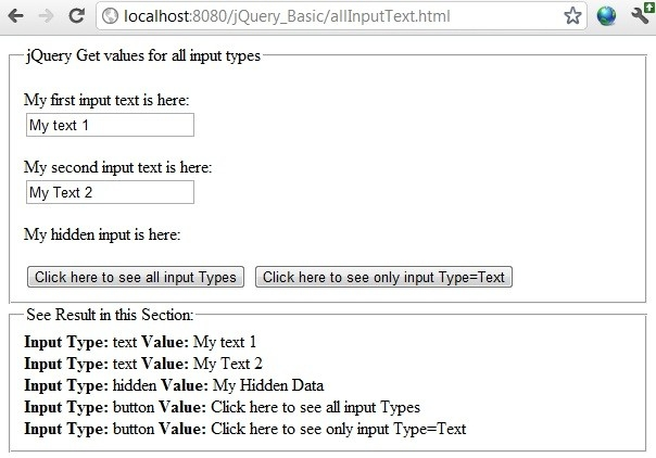 Jquery Get Input Text Value Example, And How To Set Textbox Value for Jquery Get Example 57222