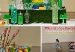 Kara's Party Ideas Wizard Of Oz Rainbow Wedding Party Decorations regarding Wizard Of Oz Decoration Ideas