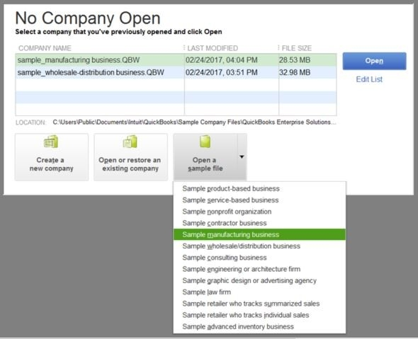 Learn Quickbooks With Sample Company Data intended for Quickbooks Sample Company 59074