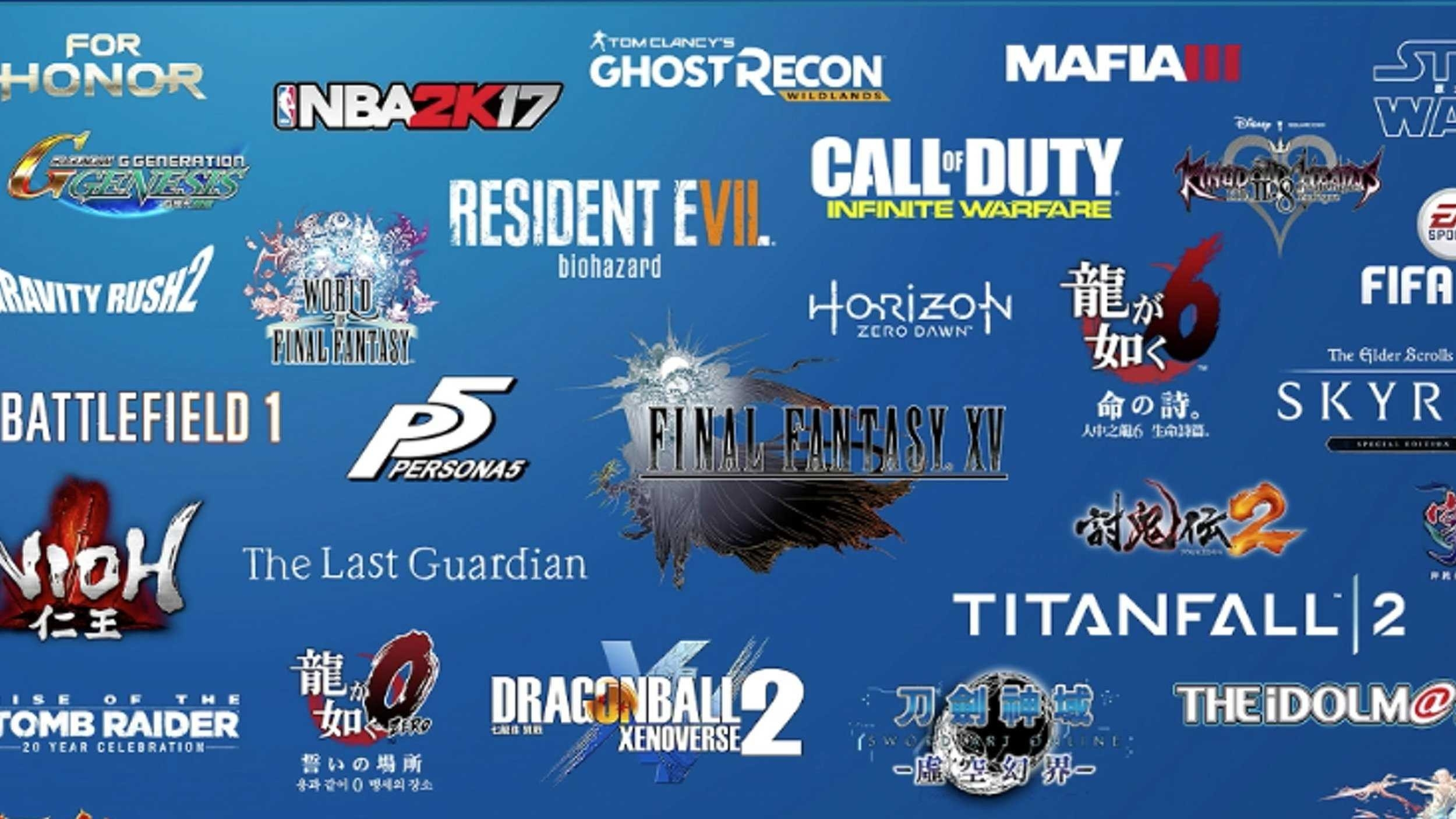List Of Playstation 4 Pro Optimised Games At Launch pertaining to List Of Playstation 4 Games 37598