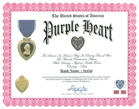 List Of Purple Heart Recipients within List Of Purple Heart Recipients 36217