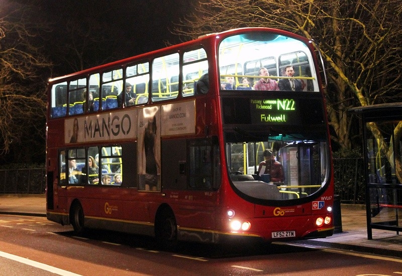 London Bus Routes | Route N22: Fulwell - Oxford Circus regarding N22 Bus Schedule 47738