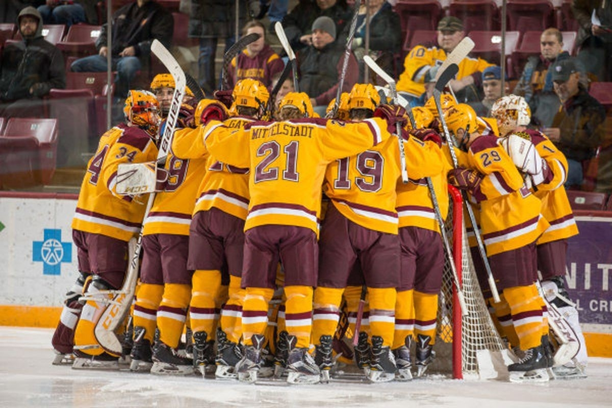 Minnesota Hockey: 2018-19 Gopher Hockey Schedule Released - The inside Gopher Hockey Schedule 47466