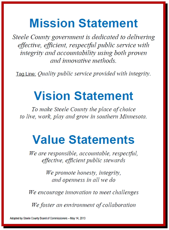 Mission Vision Values Statements | Business | Pinterest | Vision for Example Of Vision Statement 59161