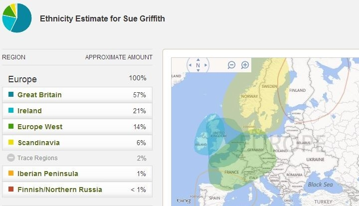 My Dna Results From 4 Companies - Genealogy Junkie in Ancestry Dna Results Sample 58076