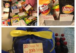 """My Gift To My Brother For His 20Th Birthday. """"20 Things For Your inside 20Th Birthday Ideas For Him"""