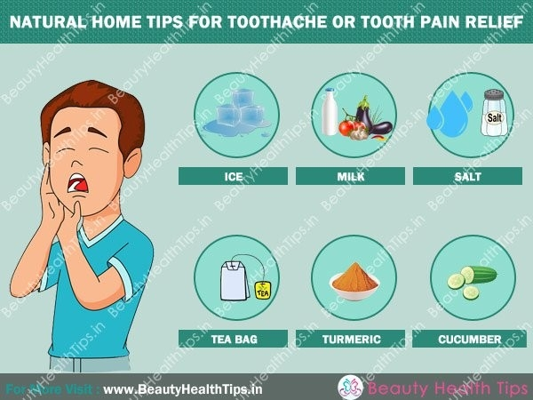 Natural Home Tips For Toothache Or Tooth Pain Relief for What Helps With Tooth Pain 47598