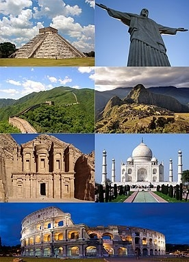 New7Wonders Of The World - Wikipedia within Seven Wonders Of The World List 37489